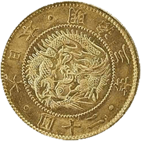 旧二十圓金貨