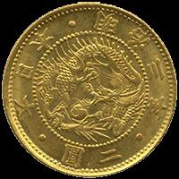 旧2圓金貨