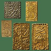古金銀の金貨