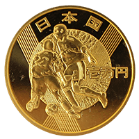 2002FIFAワールドカップ記念硬貨10000円金貨