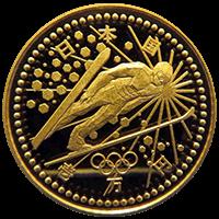 長野オリンピック記念硬貨硬貨10000円金貨(1次)