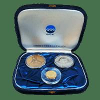 沖縄国際海洋博覧会記念メダルセットの買取相場と概要