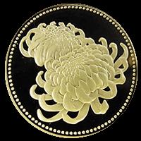 天皇陛下御在位20年記念硬貨500円ニッケル黄銅貨