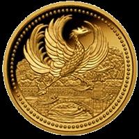 天皇陛下御在位20年記念硬貨10000円金貨