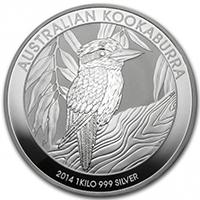 オーストラリア1キロ銀貨