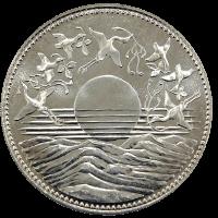 天皇陛下御在位60年記念硬貨10000円銀貨