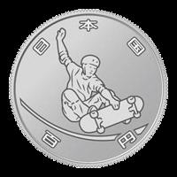 東京2020オリンピック競技大会記念硬貨(第二次)スケートボード100円記念硬貨