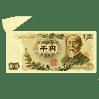 エラー伊藤博文1000円紙幣「福耳エラー」