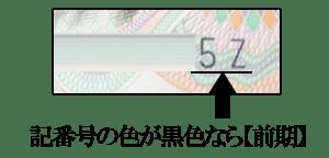 伊藤博文1000円札【前期】