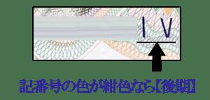 伊藤博文1000円札【後期】