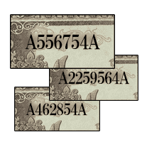 聖徳太子1000円紙幣「開始記番号(A-A券)」