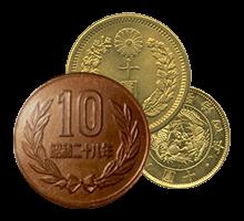各種10円硬貨