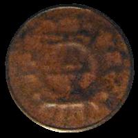 エラー1厘硬貨「片面打ちエラー硬貨」