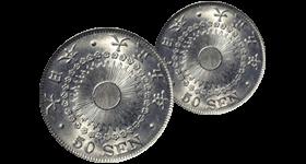 50銭エラー硬貨の買取価格