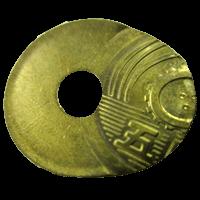 エラー5円硬貨「印刷ズレエラー硬貨」